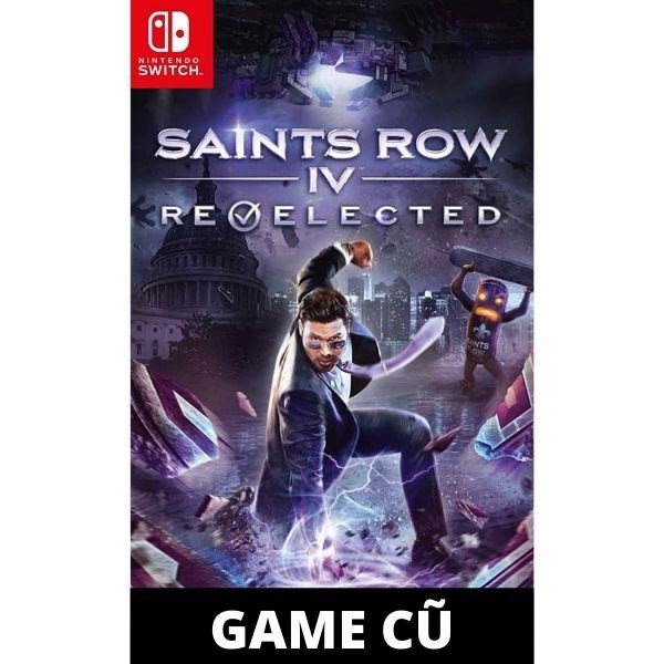 Saints Row IV cho Nintendo Switch [Second-hand]