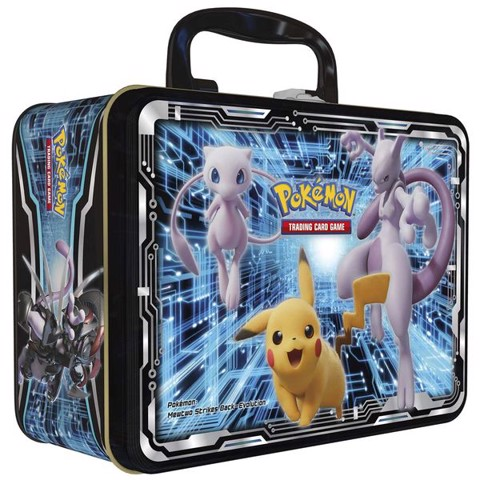 PT52 - Thẻ bài Pokemon Collector Chest Mewtwo Strikes Back Evolution