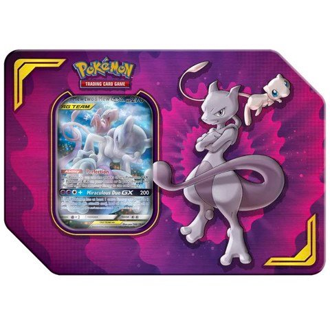 PT46 - Thẻ bài Pokemon Mewtwo & Mew-GX Power Partnership Tin