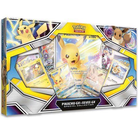 PB109 - Thẻ Bài Pokemon Pikachu-GX & Eevee-GX Special Collection