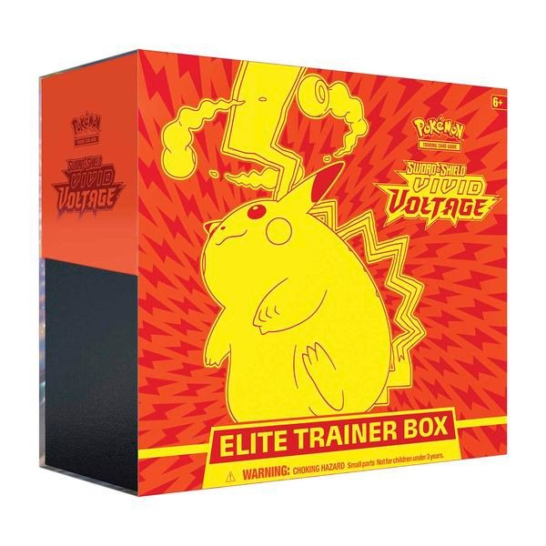 PE32 - Bài Pokemon Sword & Shield Vivid Voltage Elite Trainer Box