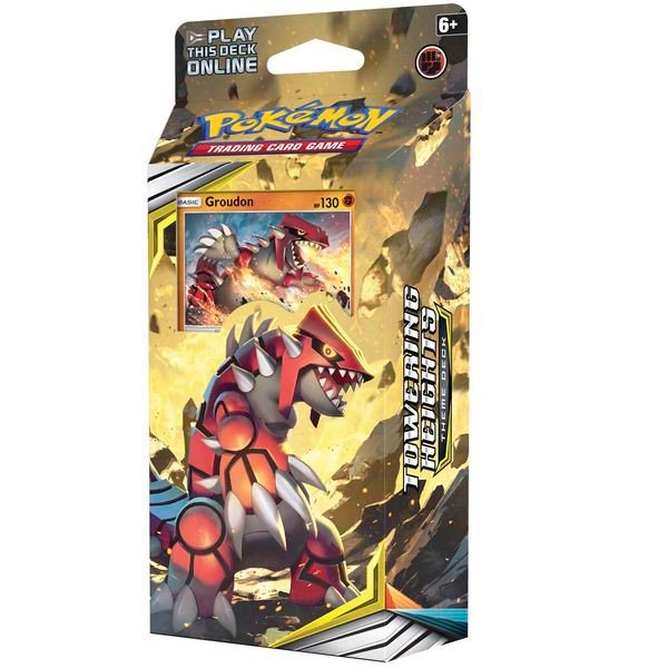 PD71 - Bộ bài Pokemon Towering Heights Theme Deck
