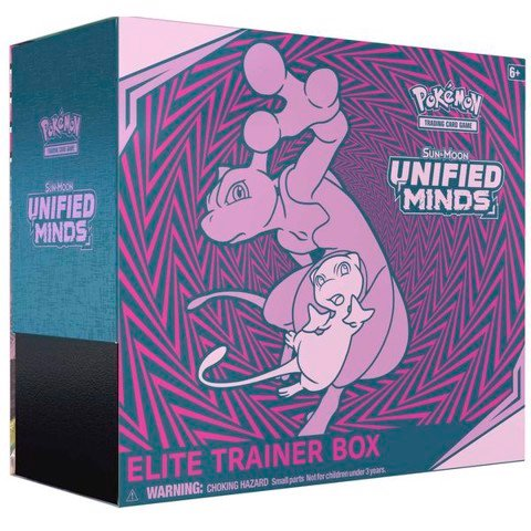 PE25 - Bài Pokemon Unified Minds Elite Trainer Box