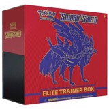 PE28 - Bài Pokemon Sword & Shield Elite Trainer Box (Zacian)