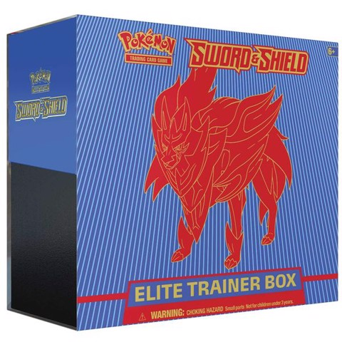 PE29 - Bài Pokemon Sword & Shield Elite Trainer Box (Zamazenta)