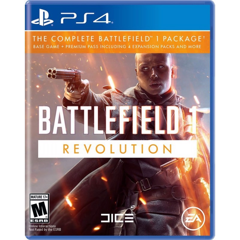 PS4209 - BATTLEFIELD 1 REVOLUTION