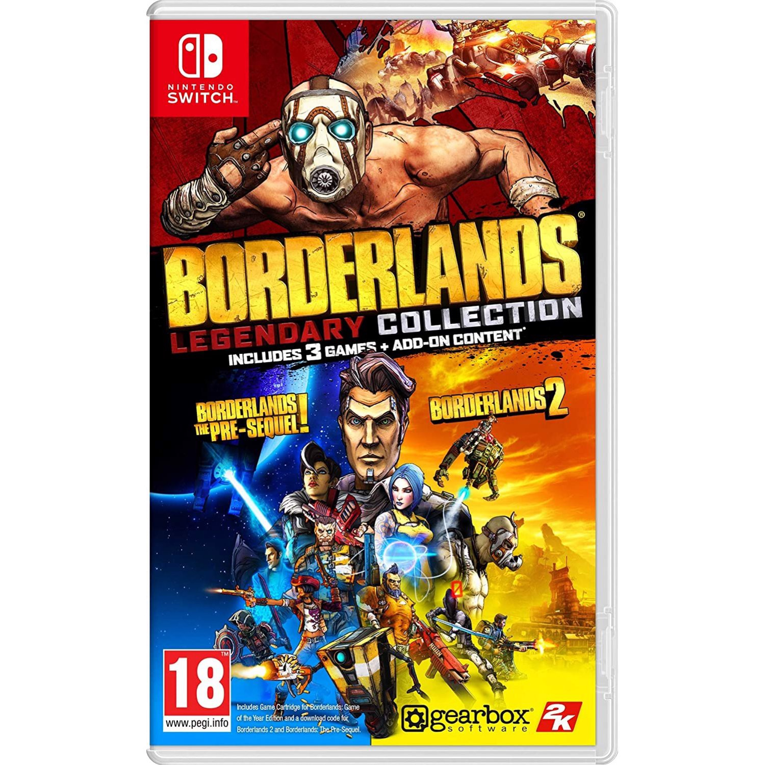 SW185 - Borderlands Legendary Collection cho Nintendo Switch