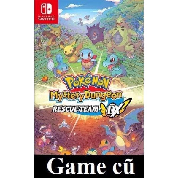 Pokemon Mystery Dungeon: Rescue Team DX cho Nintendo Switch [Second-hand]