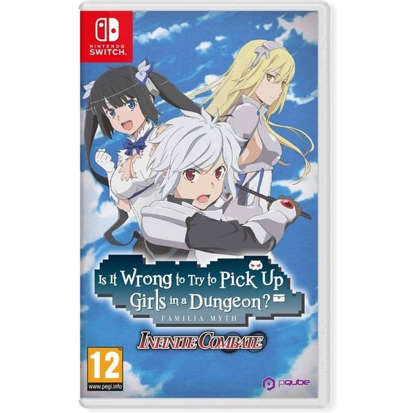 SW197 - Is It Wrong to Try to Pick Up Girls in a Dungeon? Familia Myth Infinite Combate cho Nintendo Switch