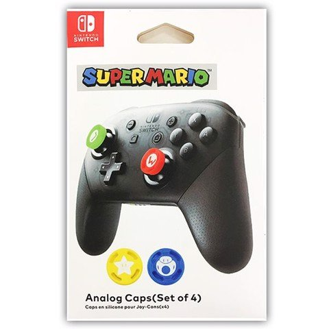 Cover Analog Pro Controller (Mario Set)