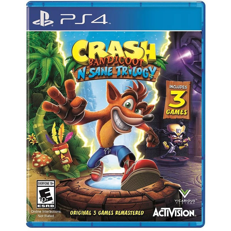 PS4217 - CRASH BANDICOOT N-SANE TRILOGY