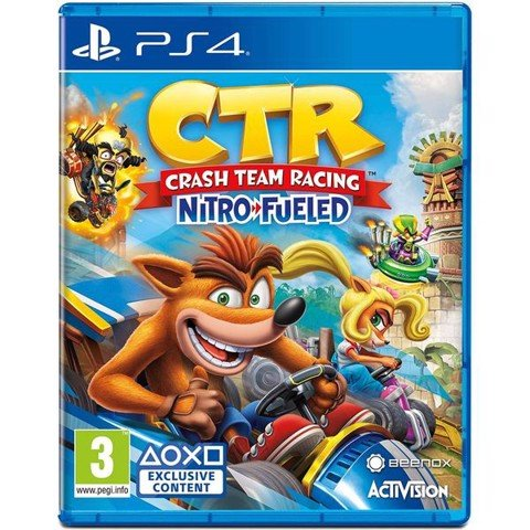 PS4332 - CTR Crash Team Racing Nitro - Fueled cho PS4 (Đua xe cáo)