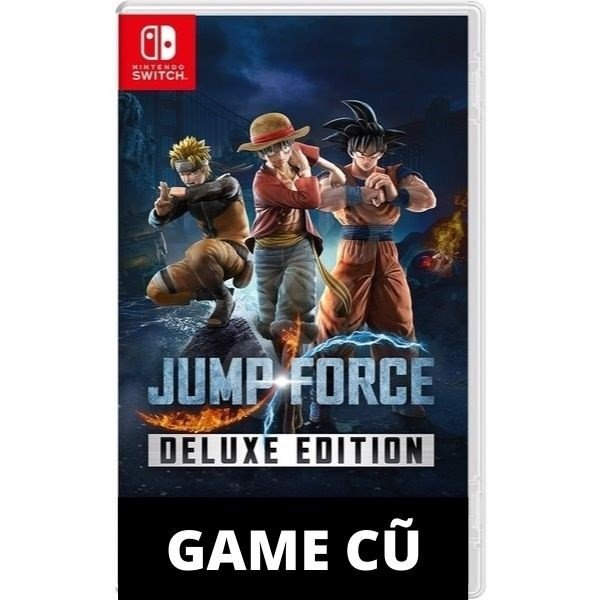JUMP FORCE DELUXE EDITION CHO NINTENDO SWITCH [Second-hand]
