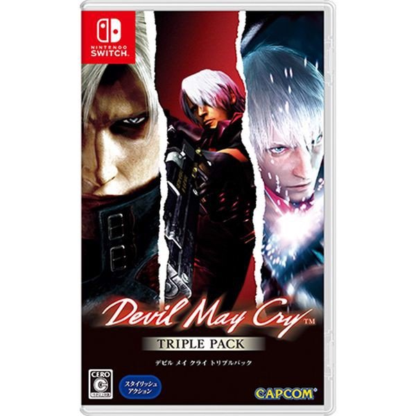 GSW160 - Devil May Cry Triple Pack cho Nintendo Switch