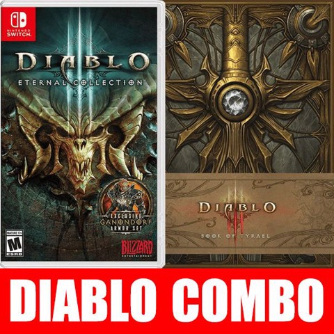 SW074B - Diablo 3 Nintendo Switch + Book of Tyrael