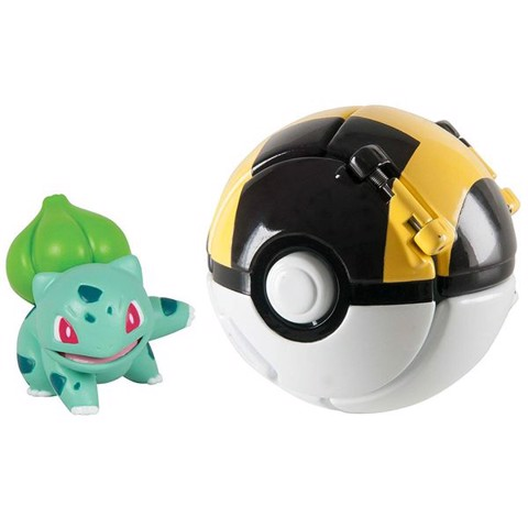 Throw 'n' Pop Poke Ball - Bulbasaur & Ultra Ball (Pokemon)