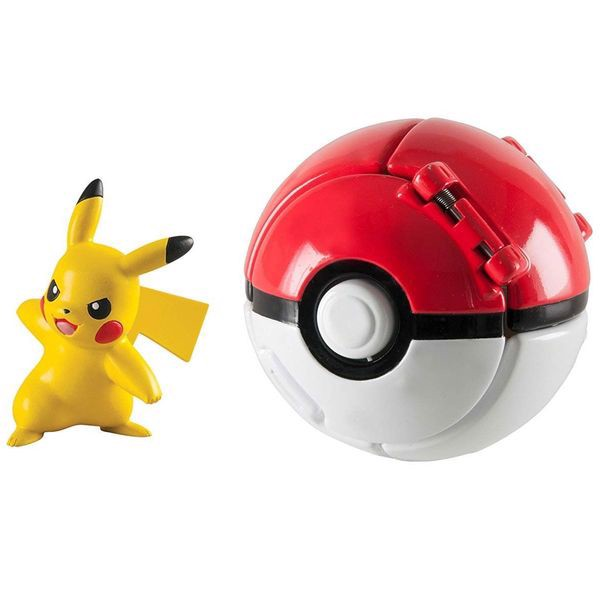 Throw 'n' Pop Poke Ball - Pikachu & Poke Ball (Pokemon)