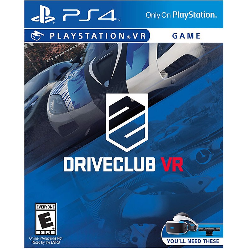 PS4213 - DRIVECLUB VR