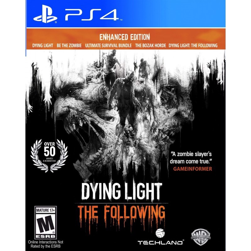 PS4129 - DYING LIGHT: THE FOLLOWING - ENHANCED EDITION