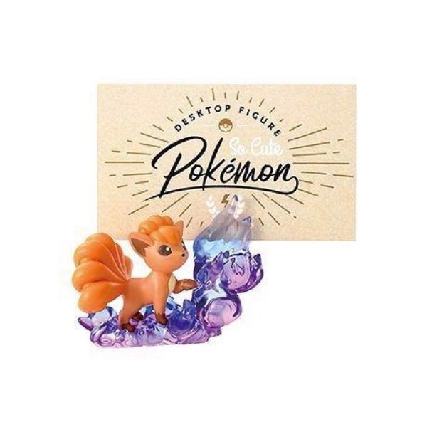 Pokemon Desktop Figure So Cute - Vulpix (Rokon)