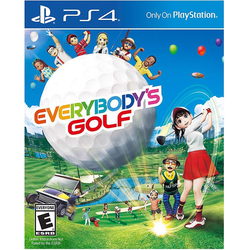PS4227 - EVERYBODY'S GOLF