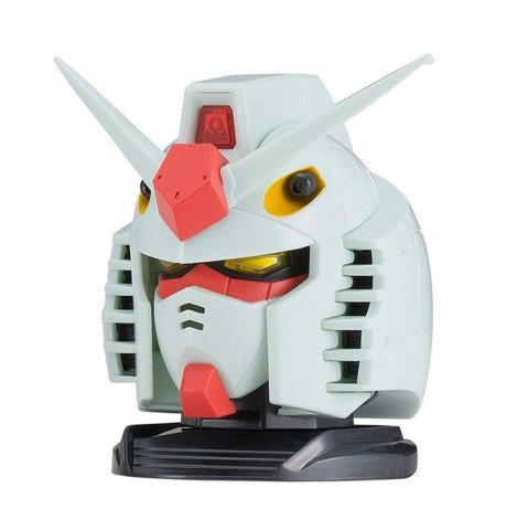 Exceed Model Gundam Head 2 - RX-78-2 Gundam (Anime White Color Ver.)