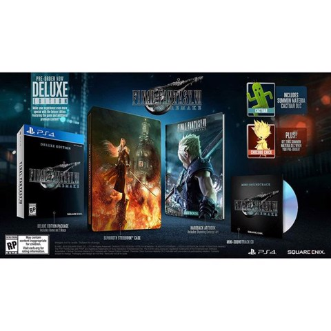 PS4361B - Final Fantasy VII Remake Deluxe Edition cho PS4