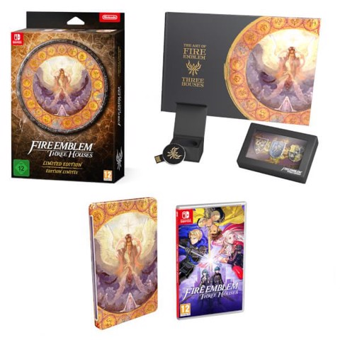 SW119L - Fire Emblem: Three Houses Limited Edition cho Nintendo Switch