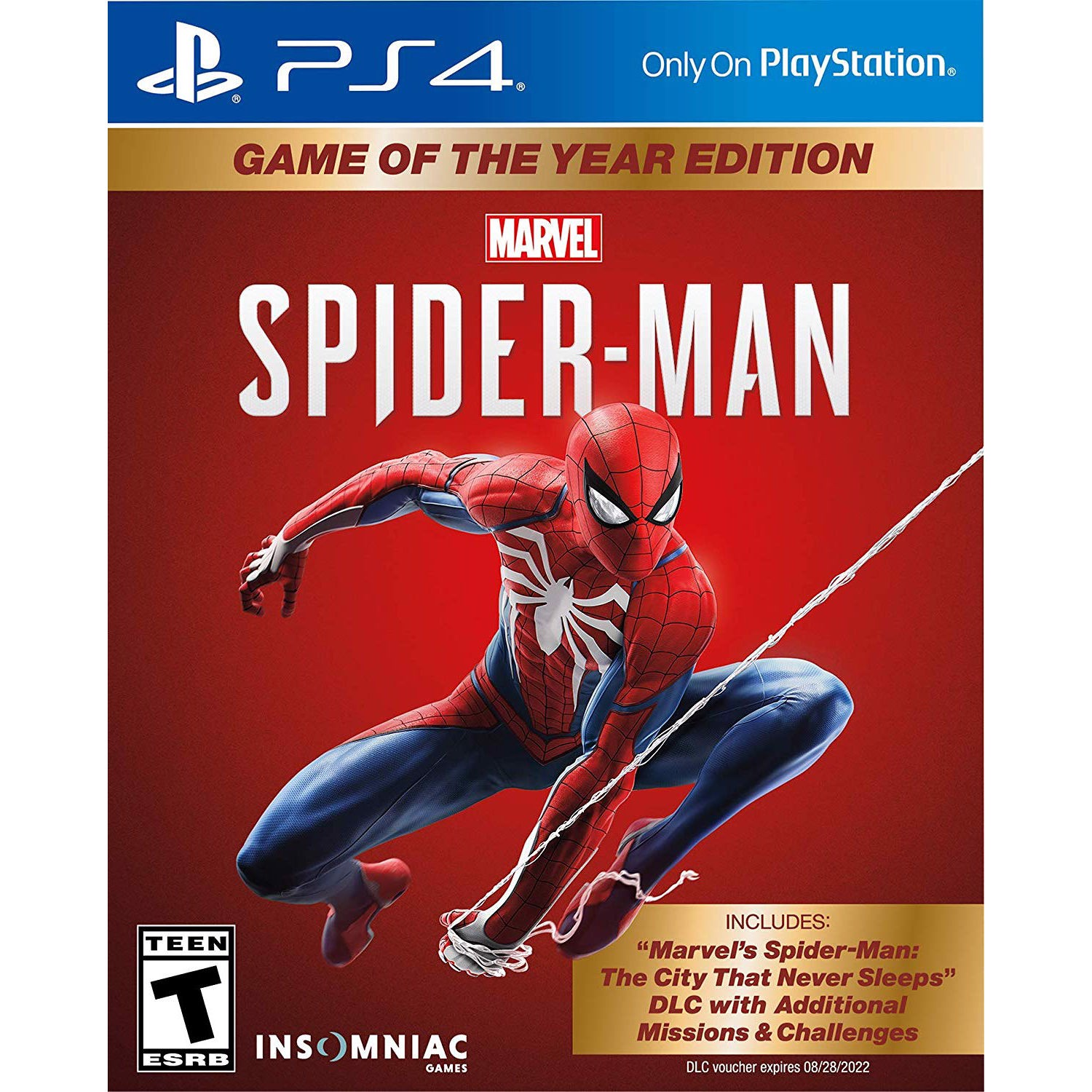 PS4296 - Marvel's Spider-Man - Game Of The Year Edition cho PS4 PS5