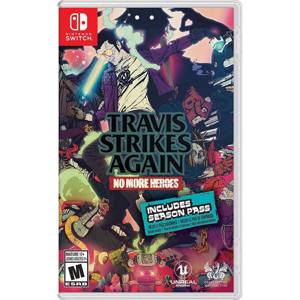 SW087 - Travis Strikes Again: No More Heroes cho Nintendo Switch