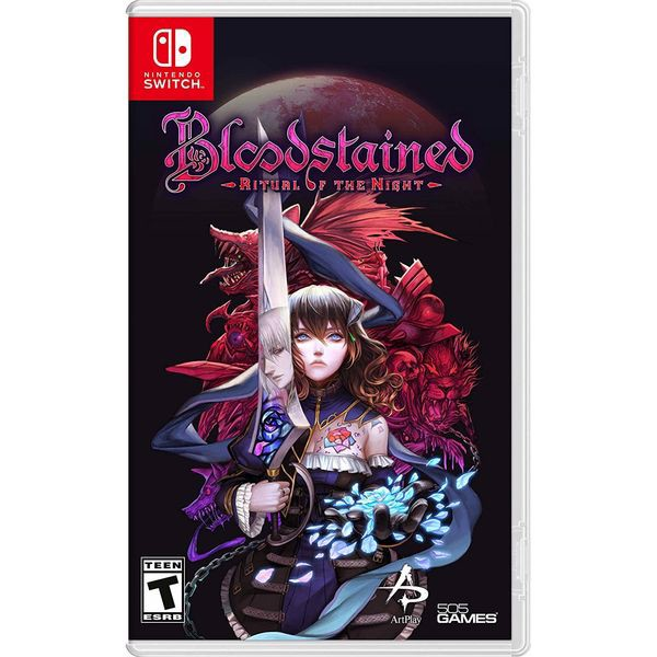 SW108 - Bloodstained: Ritual of the Night cho Nintendo Switch