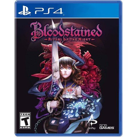 PS4337 - Bloodstained: Ritual of the Night cho PS4