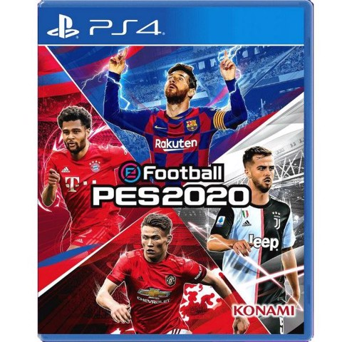PS4341A - eFootball PES 2020 cho PS4 (hệ ASIA)