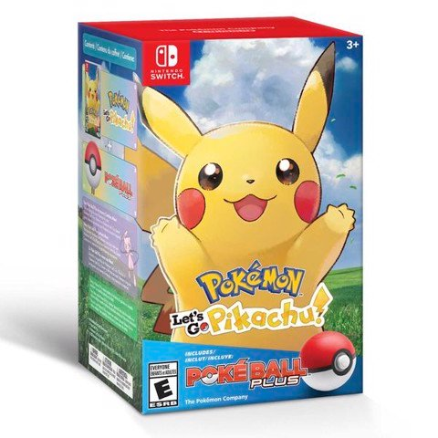 SW077C - Pokemon: Let's Go, Pikachu! + Poke Ball Plus Pack