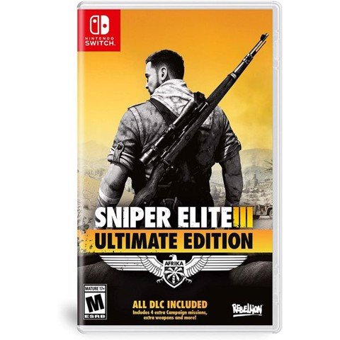 SW133 - Sniper Elite 3 Ultimate Edition cho Nintendo Switch
