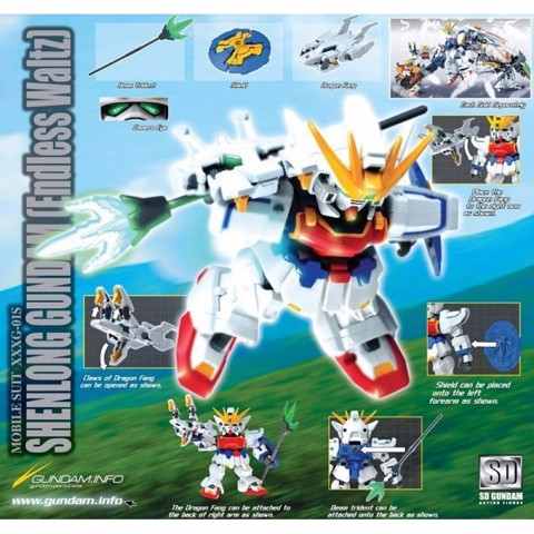 SHENLONG GUNDAM EW (SD ACTION FIGURE)