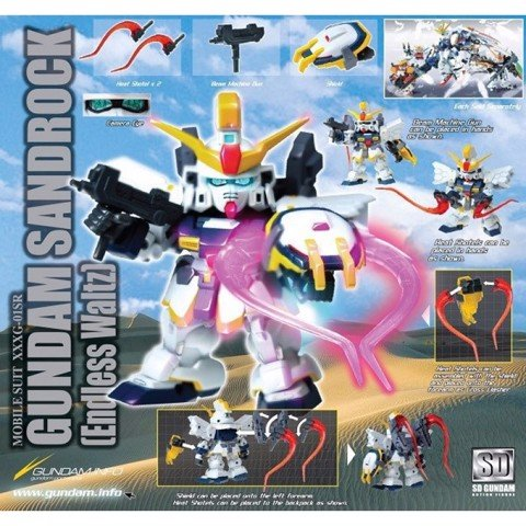 GUNDAM SANDROCK EW (SD ACTION FIGURE)