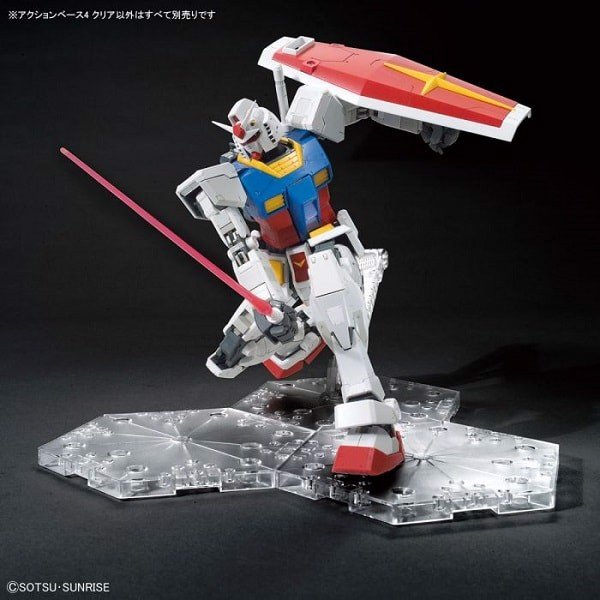 Đế dựng Gundam Action Base 4 - Clear (1/144 - 1/100)