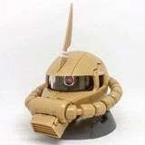 Gundam Exceed Model Zaku Head 4 - Zaku II Desert Color