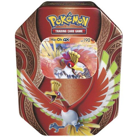 PT31 - HO-OH-GX MYSTERIOUS POWERS TIN (POKÉMON TRADING CARD GAME)