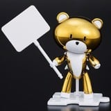 shop gundam bán The Gundam Base Limited Petit'gguy Gold Top & PlaCard (HGPG - 1/144)