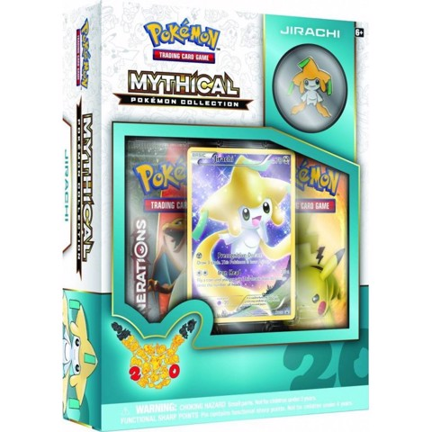 PB32 - MYTHICAL POKEMON COLLECTION - JIRACHI (POKÉMON TRADING CARD GAME)