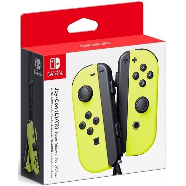 Nintendo Switch Joy-Con Controller Set (Neon Yellow)