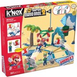 K'NEX NEW SUPER MARIO BROS 2 - BEACH BUILDING SET