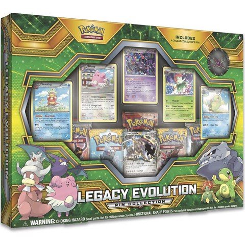 PB58 - LEGACY EVOLUTION PIN COLLECTION (POKÉMON TRADING CARD GAME)