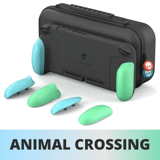 Combo Skull & Co túi đựng Nintendo Switch kèm Case Grip cao cấp Animal Crossing