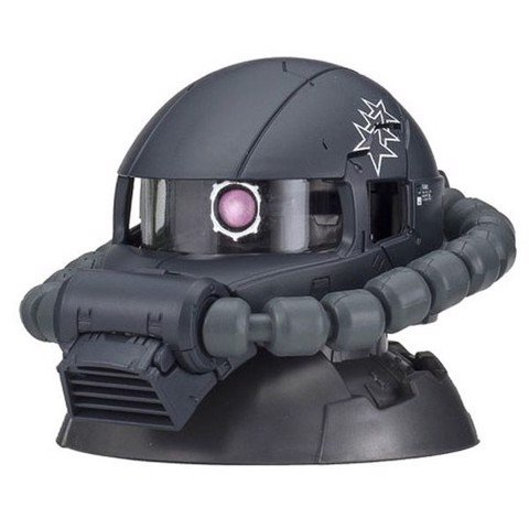 Gundam Exceed Model Zaku Head 4 - Zaku II Black Tri-Stars Gaia / Mash / Ortega (The ORIGIN Ver.)