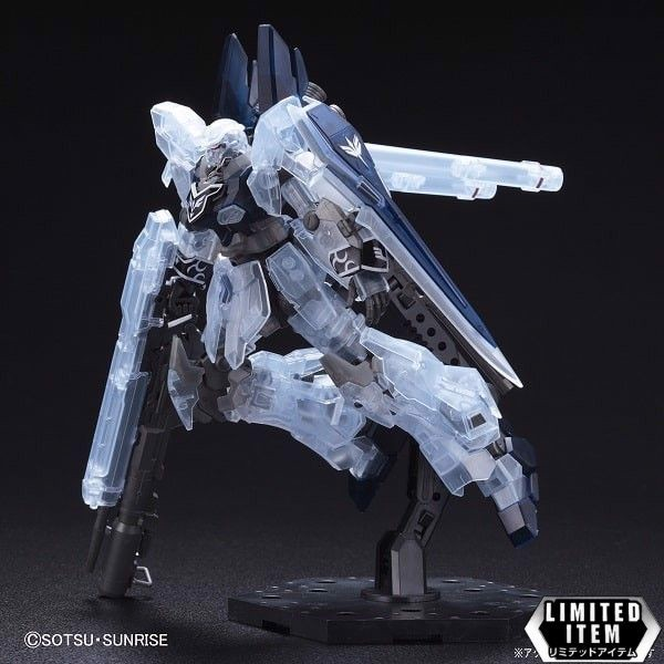 MSN-06S-2 Sinanju Stein (Narrative Ver.) (Clear Color) Limited Package (HGUC - 1/144)