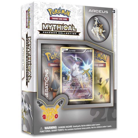 PB13 - MYTHICAL POKEMON COLLECTION - ARCEUS (POKÉMON TRADING CARD GAME)