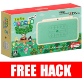 New Nintendo 2DS LL Animal Crossing Edition